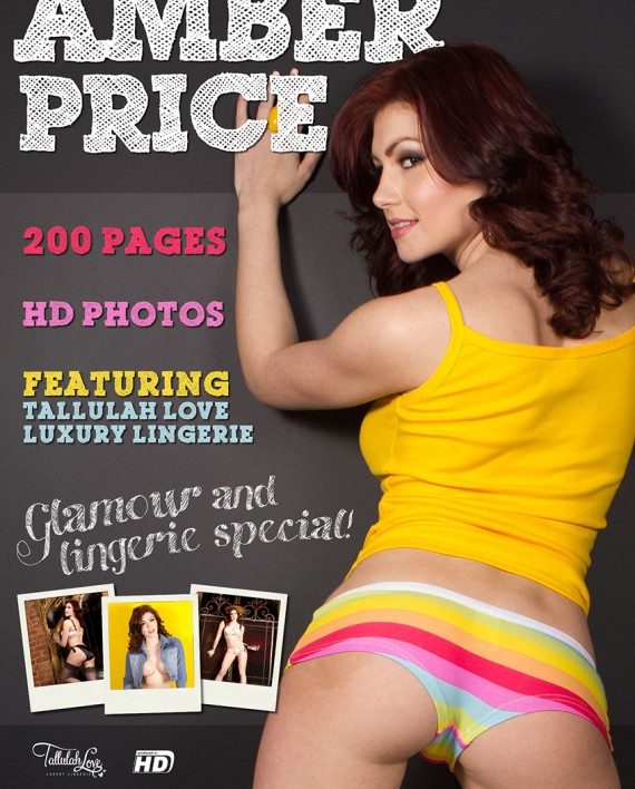 amber price lingerie special cover