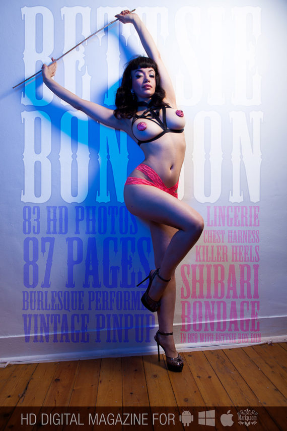 Bettsie Bon Bon Burlesque model